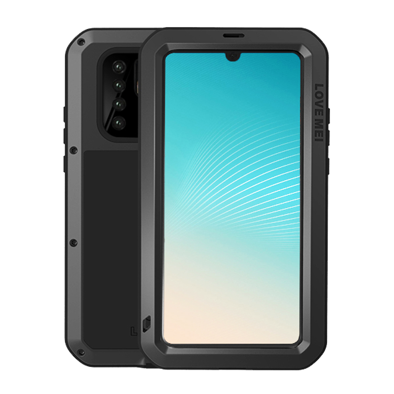 Metal Armor Case For Huawei P30 Pro P40 Shockproof Waterproof Full Body With Gorrila Glass Rugged Cover Huawei P30Pro Case Armor
