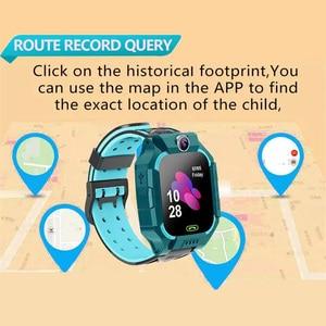 Image 4 - Q19 /G7/G5 çocuklar akıllı saat görüntülü sohbet akıllı oyunlar uzaktan fotoğraf SOS acil yardım akıllı saat