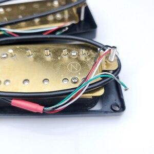 Image 4 - Wilkinson Black open Double coil Electric Guitar Humbucker Pickups (Bridge & Neck Pair)