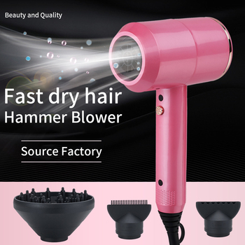Hair Dryers 2000W secador de cabelo Profissional 2 In 1 Hot &Cold Wind Negative Ionic Hair Blow Dryer Strong Wind Hot Dryer