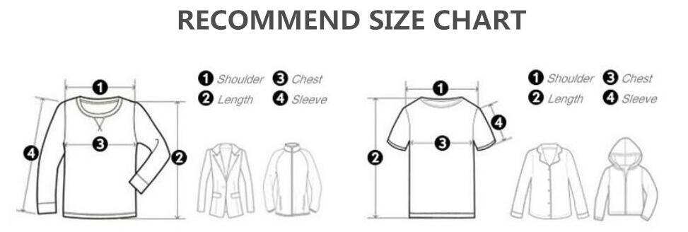 卫衣尺码表2