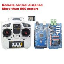 800m Long distance Arduino Remote Control Wireless Robot Kit 6-channel Smart Mecanum Wheel Car Controller Parts