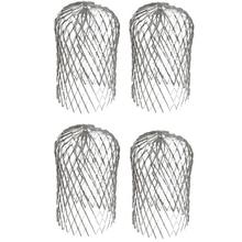 Cap Drain Garden PIPE-FILTER FREELY-RETRACTABLE-FILTER Eaves 4PCS