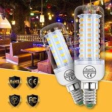 цена на E27 220V LED Lamp E14 Light LED Corn Bulb Candle Bombillas GU10 Lampada G9 LED 3W 5W 7W 9W 12W 15W Energy Saving B22 240V 5730