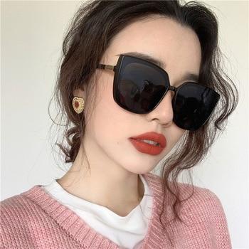 HINDFIELD New Brand Sunglasses Square Glasses Cat Eye Vintage Cheap Sun glasses Black Female UV400 Oculos De Sol Feminino мужские солнцезащитные очки brand new 2015 uv400 oculos gafas feminino sg02