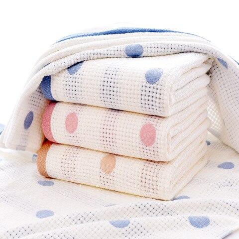 70x140 cm musselina algodao macio toalha de banho do bebe absorvente criancas rosto toalha de