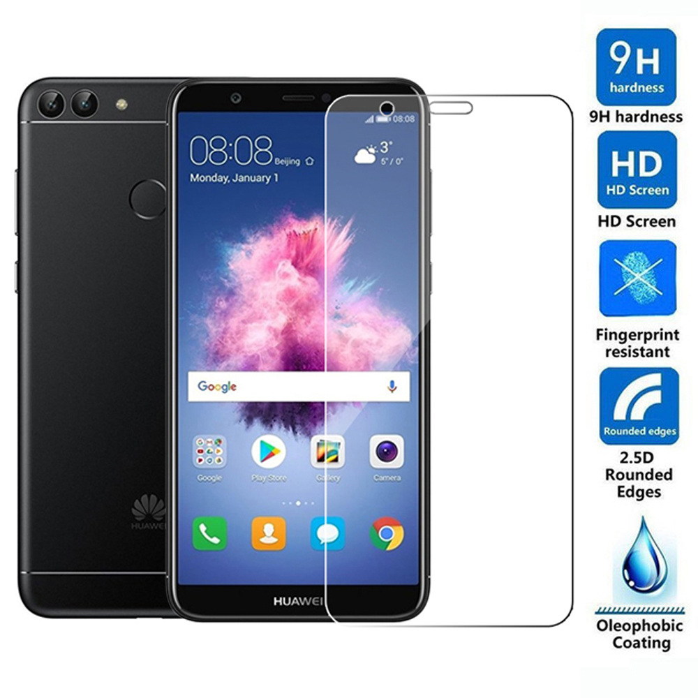 tempered glass for huawei p smart 2018 plus 2019 phone screen protector protective film for huawei p smart Z on glass smartphone title=