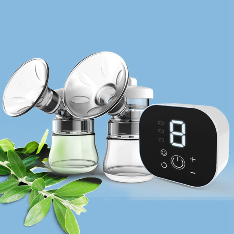 Breast-Pump Anti-Backflow Electric Automatic Suction Quiet 9-Speed Adjustment Smart-Bilateral