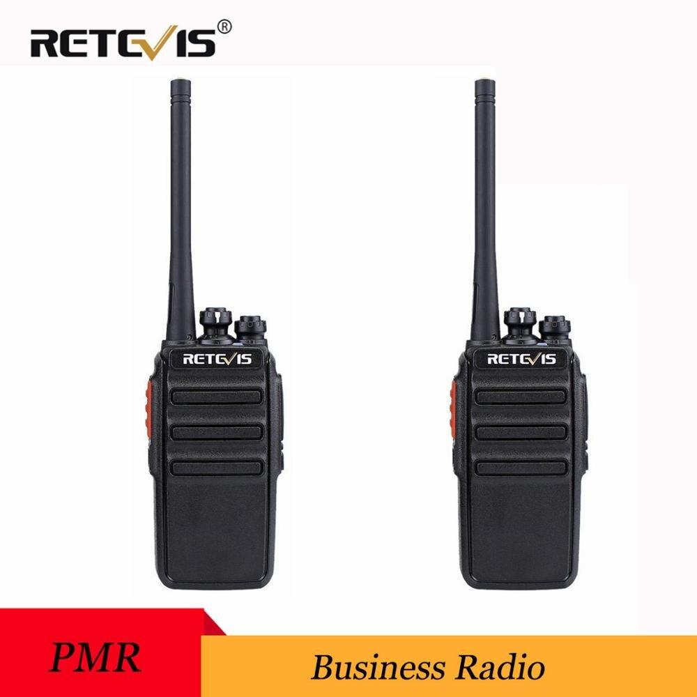 2pcs Retevis RT24 PMR Radio Walkie Talkie 0.5W UHF PMR446 Scrambler VOX Handheld Two Way Radio Transceiver Radio Comunication
