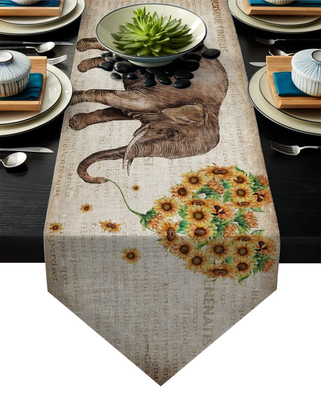 ventanal oficina dise/ño de dormitorio decoraci/ón de boda Camino de mesa flor del sol Placemat Antideslizante se puede para sof/á