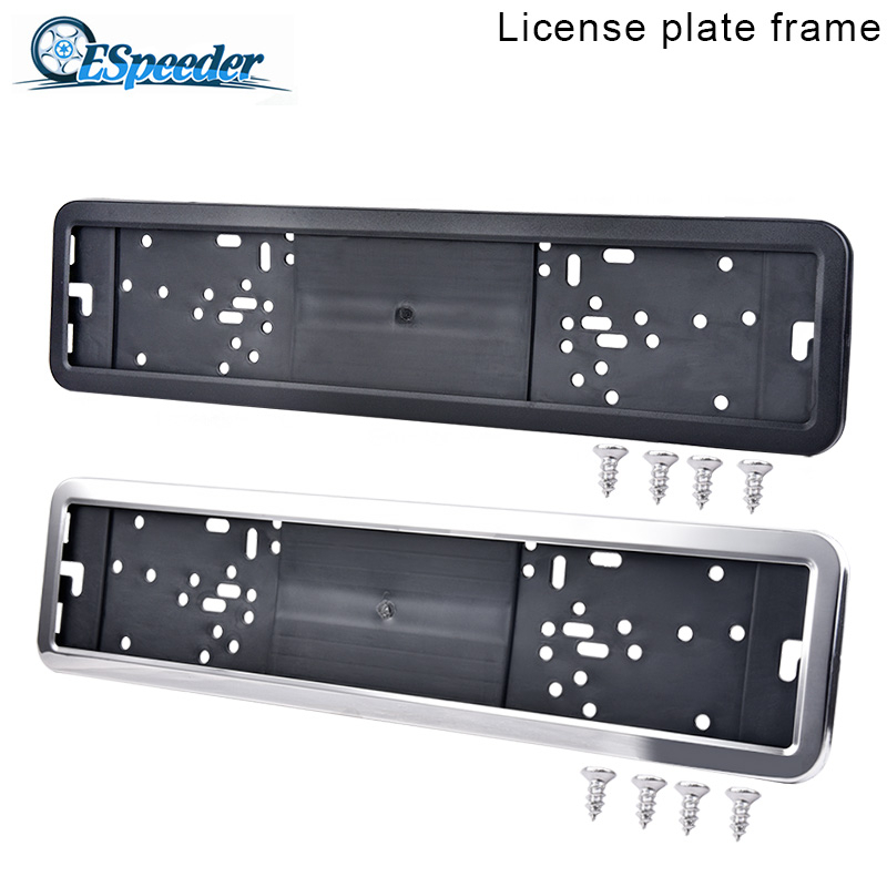 all model Euro Standart License Plate Frame 1PC AUDI