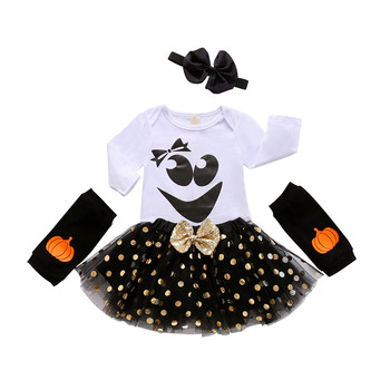 turkey print set newborn kids baby boy girl clothes my first thanksgiving letter long sleeve boysuit pants outfits set 0 2t My First Halloween Newborn Baby Girl Clothes Boy Romper Long Sleeve Tops +Skirts Halloween Costume Outfits Infant Set bebes
