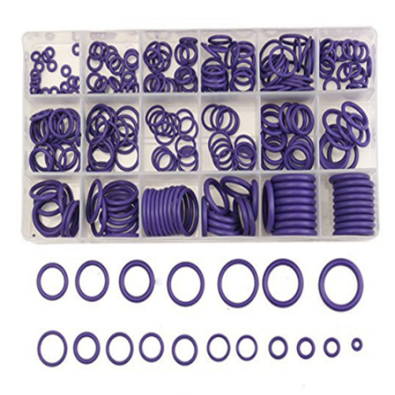 270pcs rubber ring automotive air conditioning compressor seal durable O-ring element