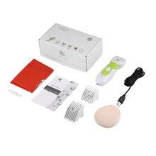 Водонепроницаемый Электрический детский набор для стрижки волос 7 в 1 перезаряжаемый профессиональный набор для стрижки волос Тихий детский триммер для волос