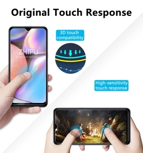 Image 5 - 2 Pcs Tempered Glass For Samsung Galaxy A10S Glass Screen Protector 2.5D 9H Tempered Glass For Samsung A10S Protective Film