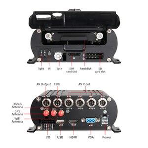 Image 3 - 3 шт., Автомобильный видеорегистратор, 4G, GPS, Wifi, 4 канала