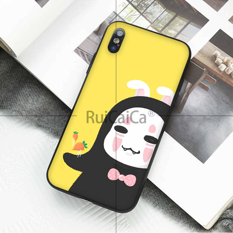 Ruicaica Totoro حماسي بعيدا جيبلي ميازاكي أنيمي الهاتف حقيبة لهاتف أي فون 6S 6plus 7 7plus 8 8Plus X Xs MAX 5 5s XR 11 11pro max