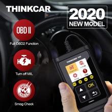 THINKCAR 100 narzędzie diagnostyczne OBD2 profesjonalne do wyszukiwania DTC samochodu OBDII pełny układ Automotivo OBD 2 skaner samochodowy z ekranem LCD