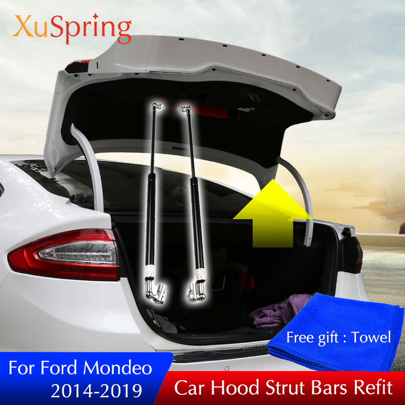 For Ford Mondeo 2014-2019 mk5 Refit Back Door Trunk Box Spring Shock Gas Bracket Strut Bars Lifting Support Hydraulic Rod