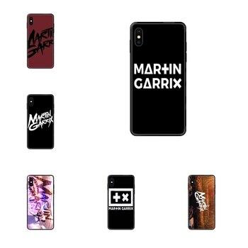 Martin Garrix Logo Druck Für Apple iPhone 11 12 Pro 5 5S SE 5C 6 6S 7 8X10 XR XS Plus Max Schwarz Weiche Mode Handy Verkaufen