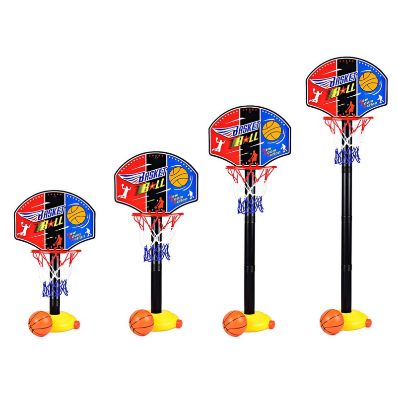 New Adjustable Basketball Net For Kids Trainning Outdoor Indoor Sports Train Basketball Hoop Toys Set Stand Ball Backboard Net