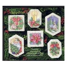 Top Kwaliteit Mooie Telpatroon Ornament Kerstman Kerstman Kaars Bloem Gift Kerstboom Ornamenten Dim 0866