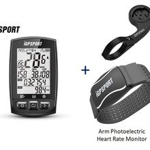 Bicycle Computer Speedometer Navigation Igpsport Igs50e Gpsenabled IPX7 200-Hours Data-Storage