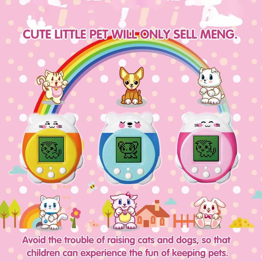 Pet yumurta Pet oyun makinesi elektronik Pet makinesi çok fonksiyonlu elektronik Pet makinesi dayanıklı oyun makinesi elektronik kedi/ köpek