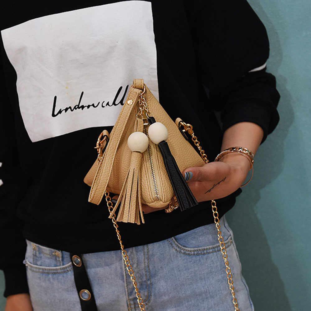 2019 HOT Forma Das Mulheres Sacos de PU de Couro Bolsa Bolsa de Ombro Bolsa Das Senhoras Bolsa Pequena Bolsa Com Zíper Moeda Sacos de Dinheiro # t2