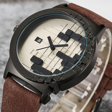 2020 Creative Minimalist Style Watch Mens Three-dimensions Waterproof Date Sport