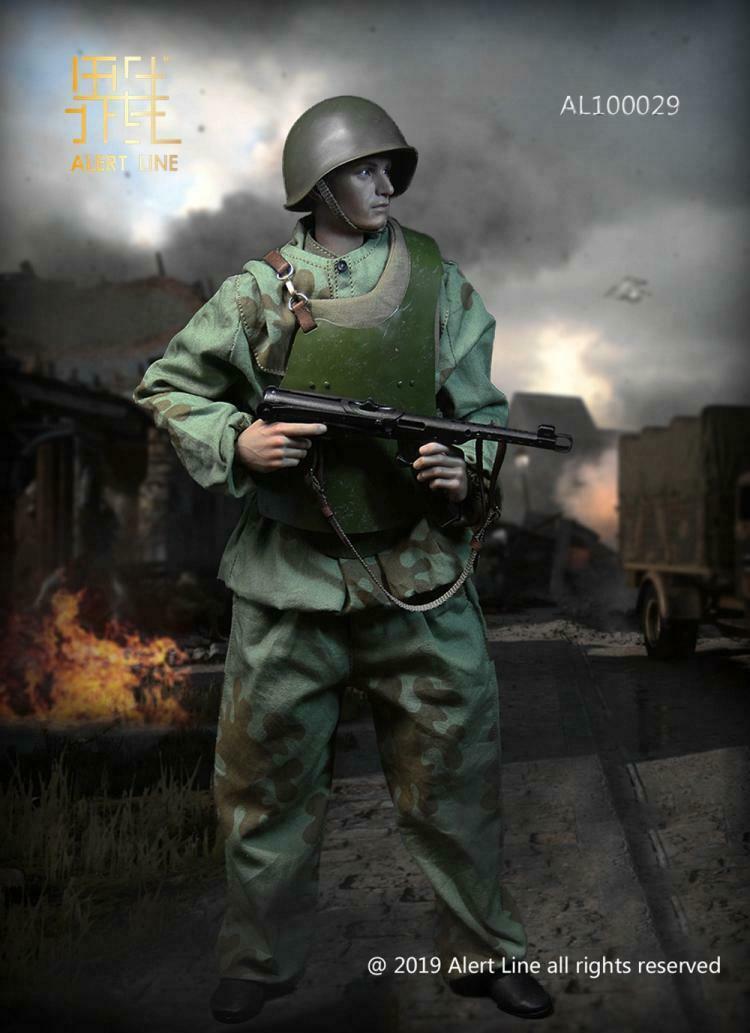 Línea de Alerta AL100029 WWII Guerra Mundial, ingeniería de asalto, juguete móvil - 5