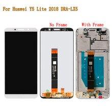 Cho Y5 Lite 2018 Full LCD Màn Hình Cảm Biến Bộ Số Hóa Cảm Ứng Khung Cho Huawei Y5 Lite (2018) DRA LX5 100% Được Kiểm Tra