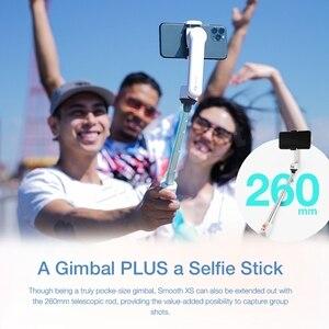 Image 3 - Zhiyun 부드러운 XS 스마트 폰 핸드 헬드 짐벌 안정제 Selfie 스틱 팔로 슬라이드 디자인 확장 스틱 아이폰 11 프로 최대 XS X