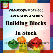 Single Sale Building Blocks Captain Marvel MK1 MK85 MK50 MK5 Iron Man MK41 Outrider Super Heroes Toys Children Gifts(China)