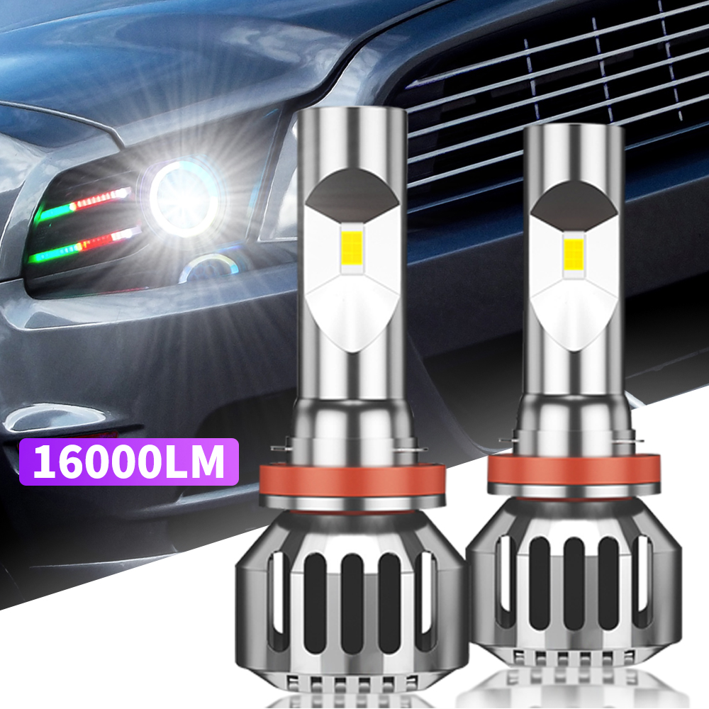 AMSES H7 <font><b>LED</b></font> Bulb <font><b>H4</b></font> H11 H8 H1 <font><b>LED</b></font> for Car <font><b>Headlight</b></font> Bulbs <font><b>100W</b></font> 6000K 16000LM HB3 HB4 9005 9006 Fog Light 12V Auto <font><b>led</b></font> Lamp image