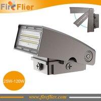6pcs/lot 25W 35W LED Wall Light Outdoor 50w 70w Sensor Corridor Lamp 100w 120w Dimmable Spotlight 30w 40w Rotatable Beam Angle