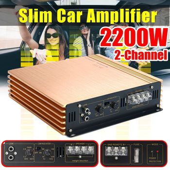 2200W DC 10-16V 2CH Car Audio Amplificador HIFI Audio Power Amplifier Stereo Amplifiers