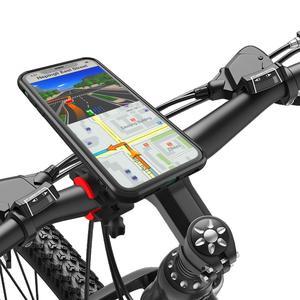 Image 5 - Universale Bike Mount supporto Del Telefono della bicicletta della Clip Della Staffa Può ruotare Stand Con cassa antiurto per il iPhone 11Pro XS MAX Xr 8 spina 76