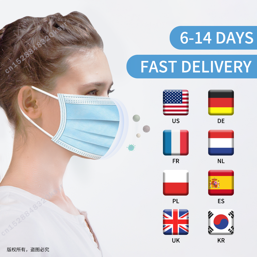 N95 Disposable Mask Filter Surgical Mask Face Mask Mascherine Antivirus Mascarilla Respirator FFP3 KF94 FFP2 Mascarilla Virus