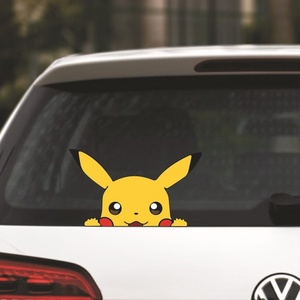 Image 5 - 1pcs Cartoon car stickers and decals accessories  Car Styling Classic Decorative Sticker Accessories