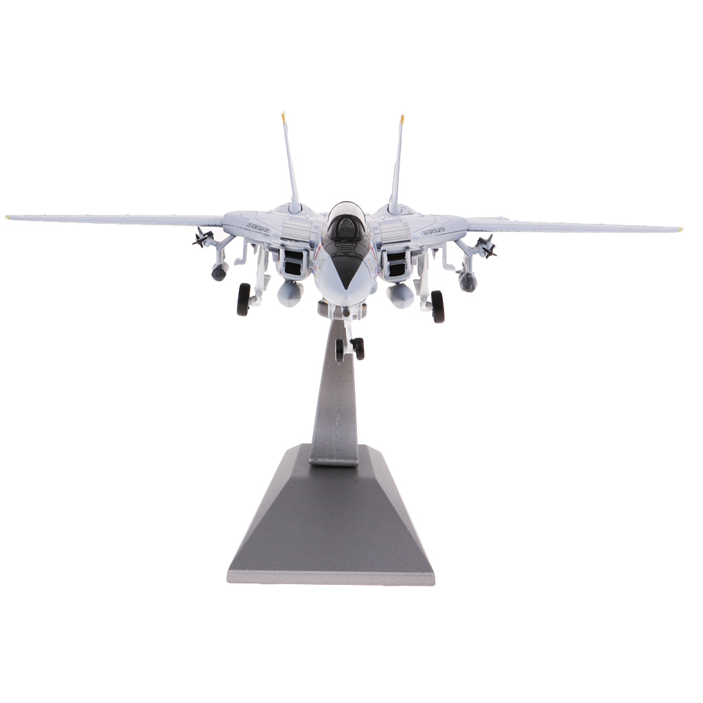 MagiDeal 1:100 F 14 Tomcat Fighter Aviation Military Airplane Diecast Alloy Helicopter Aircrafts Model