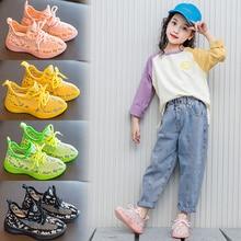 Children Shoes Girls Sneakers 2020 Boys Luminous Shoe Kids Mesh Glowing Sport Running Trainer Sneakers Girl Casual Shoes Boy