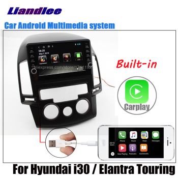 Liandlee Android For Hyundai i30 / Elantra Touring 2007~2011 2012 Stereo Car Screen Carplay DSP BT GPS Navi Navigation Map Media