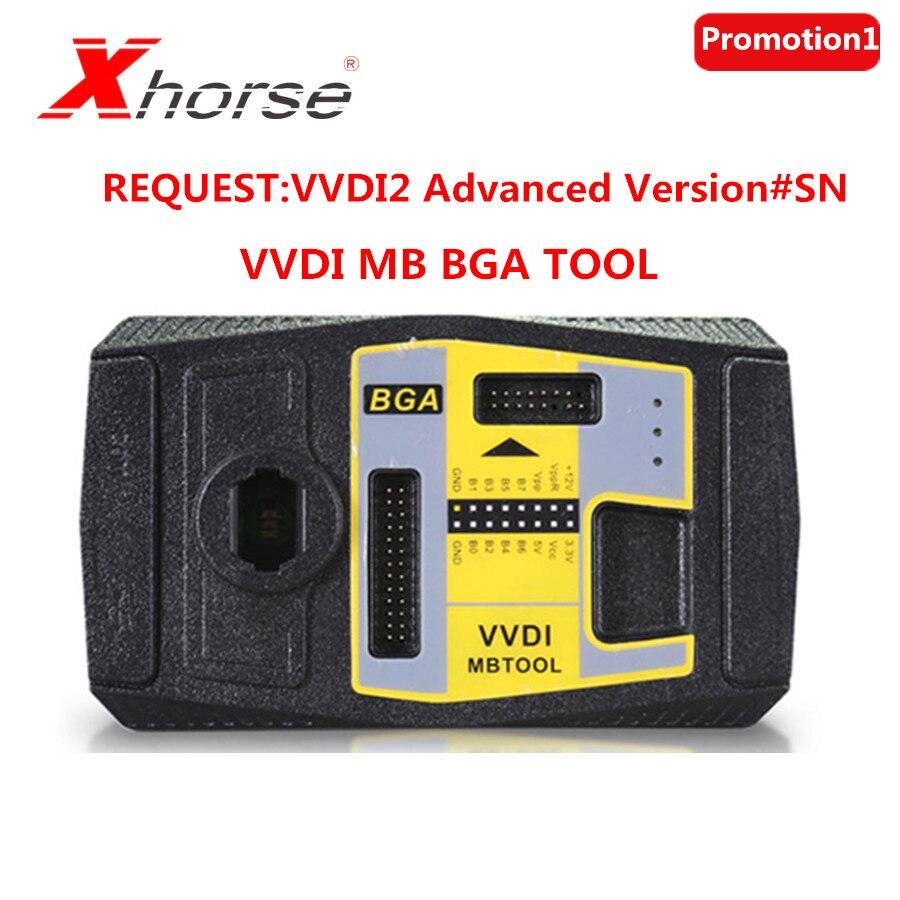 (Xhorse Promotion1) xhorse V5.0.3 VVDI MB BGA Werkzeug Schlüssel Programmierer Für die Käufer, Die die VVDI2 Volle Bereits