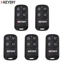 5 pçs/lote, keydiy controle remoto geral de garagem, 4 botões, porta de garagem para kd900 ur200 KD X2/kd mini gerador remoto b32