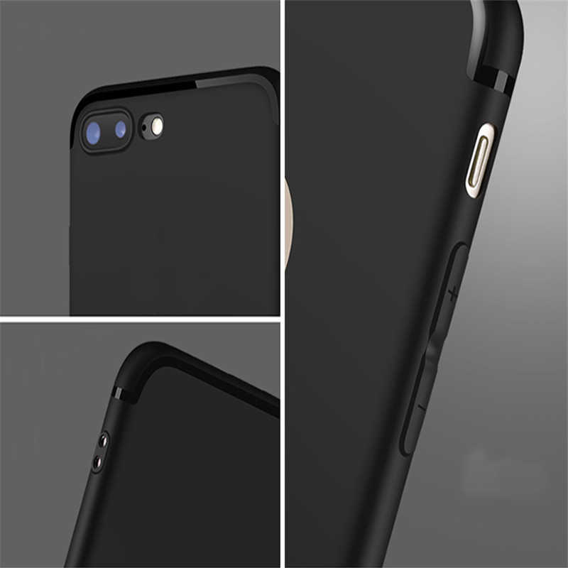 홀로그램 달 단계 전화 케이스 블랙 소프트 커버 삼성 s8 s9 s10plus S6 S7Edge S5 for iPhone 6s 7 8plus 5 X XS XR XSMax