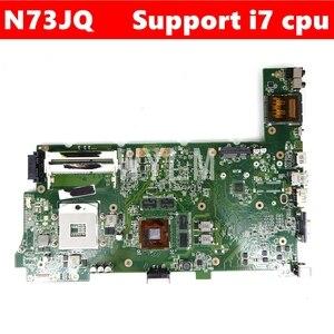 N73JQ GT425M/1 Гб Память 3 Слот для материнской платы REV 2,1 Для ASUS N73JQ N73J N73JF N73JG Материнская плата ноутбука 100% тестирование Бесплатная доставка