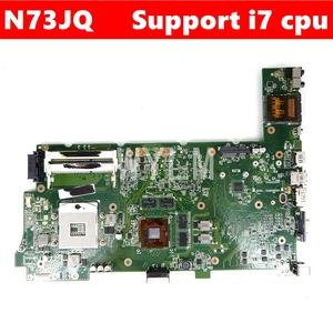 N73JQ GT425M/1GB 3 Слот для материнской платы REV 2,1 Для ASUS N73JQ N73J N73JF N73JG материнская плата для ноутбука 100% протестированная Бесплатная доставка