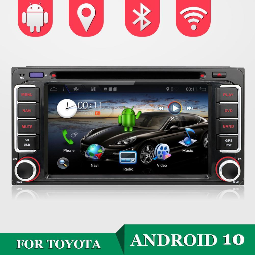 32G ROM Quad Core Android 10 auto multimedia-player Auto DVD für Toyota CELICA für Toyota MR2 für Toyota 4RUNNER Auto Radio Stereo