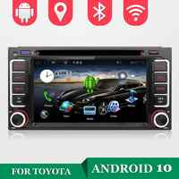 Reproductor multimedia para coche, lector audiovisual para automóvil, con sistema Android 10, 32GB, núcleo cuádruple, radio, estéreo y DVD, compatible con Toyota CELICA, Toyota MR2 y Toyota 4RUNNER